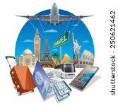 travel service | Shutterstock .eps vector #250621462