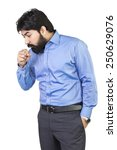 young sick businessman | Shutterstock . vector #250629076