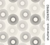 seamless pattern with dotted... | Shutterstock .eps vector #250698982