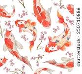 Watercolor Oriental Pattern...
