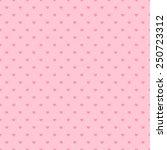 happy valentine pink background ...   Shutterstock .eps vector #250723312
