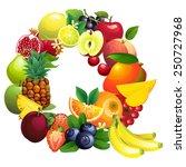 vector illustration letter q...   Shutterstock .eps vector #250727968