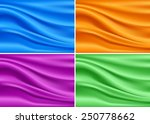 beautiful colorful modern silk... | Shutterstock .eps vector #250778662
