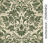 seamless damask pattern | Shutterstock .eps vector #250804852