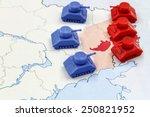 Map Of War In Donbass  Ukraine...