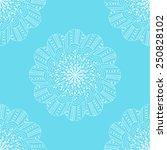 hand drawn seamless pattern... | Shutterstock .eps vector #250828102