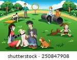 A Vector Illustration Of Peopl...