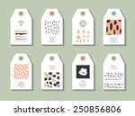collection of 8 hang tags....