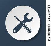 repair icon. service  symbol....