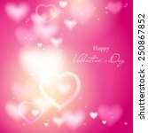 valentine's day. abstract... | Shutterstock .eps vector #250867852