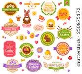 Easter Scrapbook Set. Labels ...