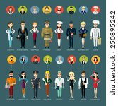 Profession People And Avatars...