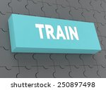 train   Shutterstock . vector #250897498