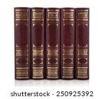 Set Of Antique Books. Books...
