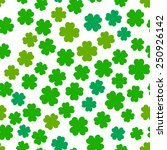 Four Leaf Clover Seamless...