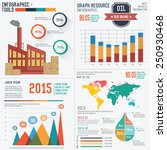 industrial info graphic design... | Shutterstock .eps vector #250930468