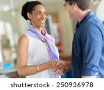 two young professionals ... | Shutterstock . vector #250936978