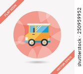 transportation car flat icon...   Shutterstock .eps vector #250959952