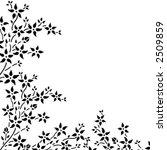 floral border | Shutterstock .eps vector #2509859