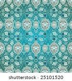 antique ottoman wallpaper... | Shutterstock .eps vector #25101520