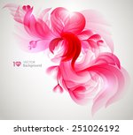abstract floral background.... | Shutterstock .eps vector #251026192
