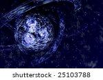 spiral galaxy | Shutterstock . vector #25103788
