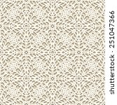 seamless lace pattern  vector... | Shutterstock .eps vector #251047366