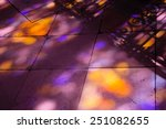 Colorful Light Spots On The...