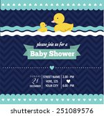 Baby Shower Invitation With...