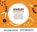 jewelry making tools   vector... | Shutterstock .eps vector #251089645