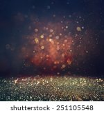 abstract blurred photo of bokeh ... | Shutterstock . vector #251105548