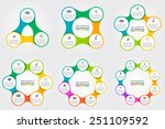 vector circle for infographic.... | Shutterstock .eps vector #251109592