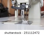 the industrial sewing machine... | Shutterstock . vector #251112472