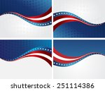 abstract image of the american... | Shutterstock .eps vector #251114386