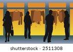 group of men and women standing ... | Shutterstock . vector #2511308