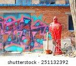 beijing  china 16 january 2015... | Shutterstock . vector #251132392