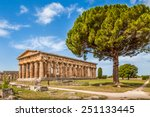Temple Of Hera At Famous...