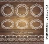 Set Collections Of Vintage Lacy ...