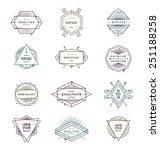 vector illustration   set of... | Shutterstock .eps vector #251188258