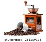 coffee grinder | Shutterstock . vector #251269135