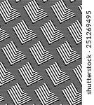 op art design  repeating zig... | Shutterstock .eps vector #251269495
