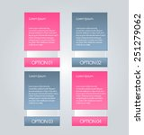 business infographics tabs... | Shutterstock .eps vector #251279062