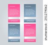 business infographics tabs... | Shutterstock .eps vector #251279062