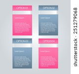 business infographics tabs... | Shutterstock .eps vector #251279068