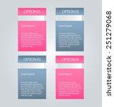 business infographics tabs... | Shutterstock .eps vector #251279068