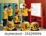 a vector illustration of soccer ...