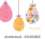 vector colorful oriental... | Shutterstock .eps vector #251301802