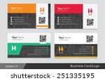 letter h logo corporate...   Shutterstock .eps vector #251335195