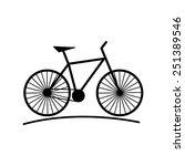 bike   Shutterstock .eps vector #251389546