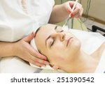 massage and facial peels at the ... | Shutterstock . vector #251390542